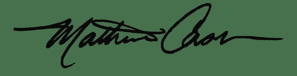 Matheau signature